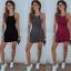 Women-039-s-Summer-Casual-Sleeveless-Short-Mini-Dress-Strappy-Beach-Swing-Sundress thumbnail 2