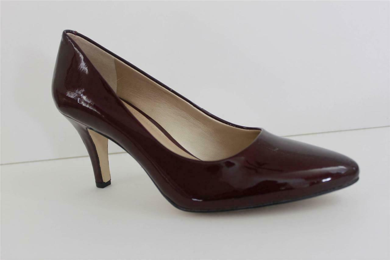 Alex Marie Womens shoes purple Wicked Apple Red Patent Leather Heel Size 7.5 & 9.5