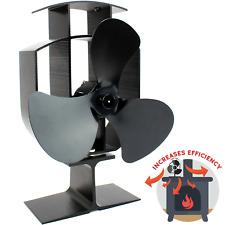 Heat Powered Stove Fan | Wood Log Burner Fireplace | Eco Friendly M&W