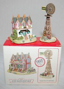 Liberty Falls Aunt Alices Quilt Shop AH126 /& Free Farmer Wilsons Windmill