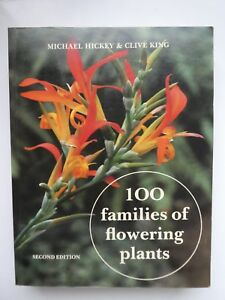 100-Families-of-Flowering-Plants-by-Clive-King-Michael-Hickey-Paperback-1988