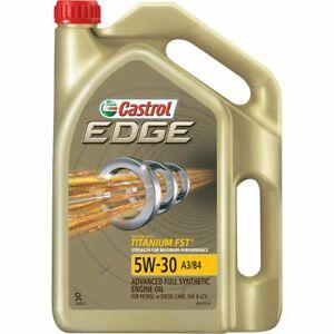 Castrol EDGE Engine Oil 5W-30 5 Litre