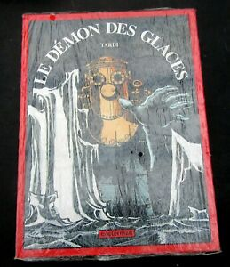 TARDI-LE-DEMON-DES-GLACES-CASTERMAN-1994-GD-FORMAT-SOUS-BLISTER-NEUF