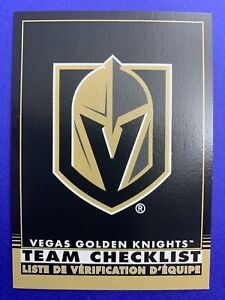 2020-21-O-Pee-Chee-Retro-Team-Checklist-Black-579-Vegas-Golden-Knights-22-100