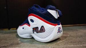 sports shoes d1513 c5731 Image is loading Fila-97-Sz-12-Blue-96-95-Gh3-