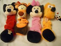 Disney Dog Toy Mickey Minnie Goofy Tigger Pluto Squeaky Chew Toy Shoe