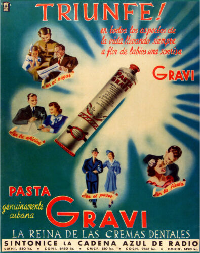 """037.Quality interior Design toothpaste ad poster/""""Dentist great GIFT/""""Gravi.Office"""