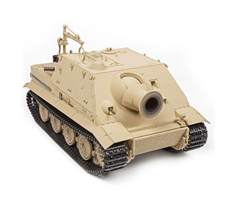 1 16 Torro German Sturmtiger RC Tank Airsoft 2.4GHz Smoke & Sound Desert color