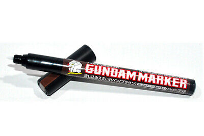 Gundam Marker Gm-303p Brown Slushing Sumi-ire Pen (capillarity) Gunpla Marrone