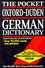 The Pocket Oxford-Duden German Dictionary by Oxford University Press (Paperback, 1997)
