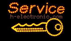 Capable Led Plaques Clé Open Neon Publicité Service Blink 55x32cm Anmation Bouteilles-afficher Le Titre D'origine
