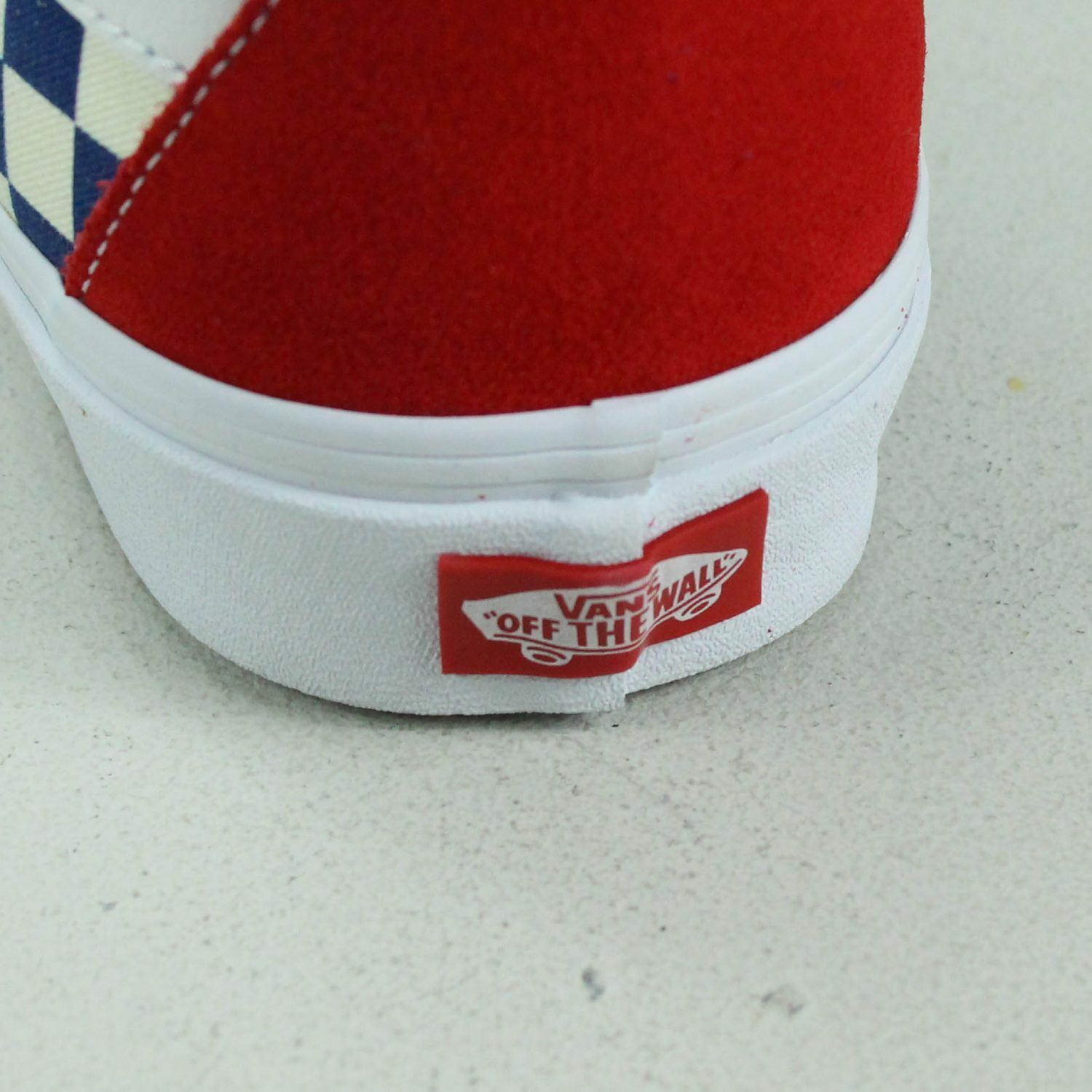 Vans BMX Checkerboard Sk8 Hi shoes Trainers in in in bluee Red in UK Size 6,7,8,9,10 47eb99
