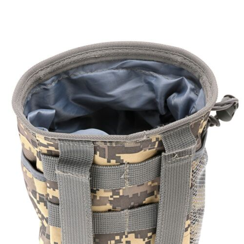 Tactical Waist Bag Pouch Drawstring Storage Molle Bag Nylon Waterproof Pack