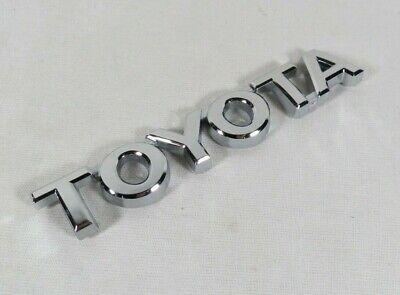 TOYOTA TACOMA EMBLEM 05-15 FRONT DOOR//REAR TAILGATE CHROME BADGE sign symbol