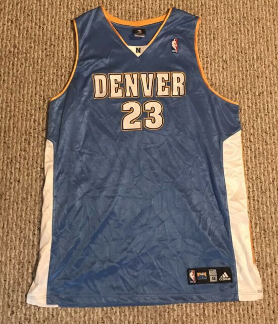 buy popular f5ba4 7c8db NBA adidas Denver Nuggets Basketball Jersey XXL 2xl