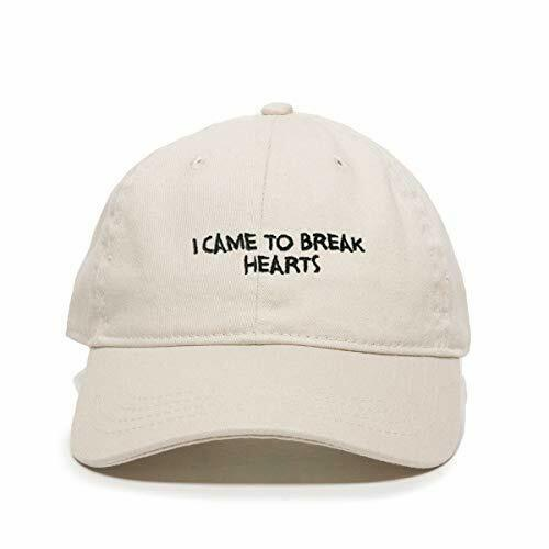 I Came to Break Hearts RiRi Baseball Cap Embroidered Cotton Adjustable Dad Hat