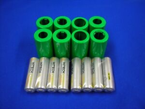8 of C size battery Adapters(Non included AA Rechargeable )For Cameras,RC Toys..