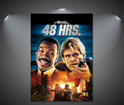 Another 48 Hours Vintage Movie Poster A4 available A2 A3 A1
