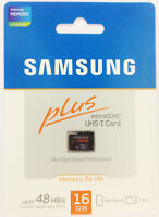 Samsung 16gb Micro Sd Sdhc Memory Card Class 10 Galaxy S2 Sii S3 S4 S5 Tab