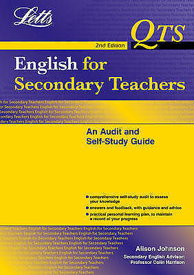 1 of 1 - English for Secondary Teachers: An Audit and Self Study Guide (QTS: Audit & Self