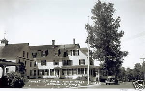Details About 1940s Kennebunk Maine Forest Hill House White Barn Inn