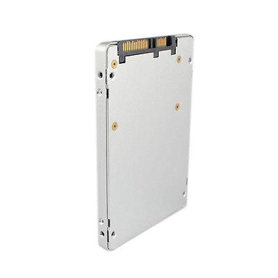 "ES mSATA SSD to 2.5""Enclosure Case Converter Adapter Intel/Samsung/Asus White US"