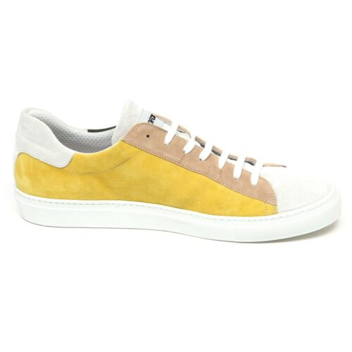 Sneaker Suede Uomo Scarpe Officina Multicolor Man Shoe 36 E9384 TnBHwqgB
