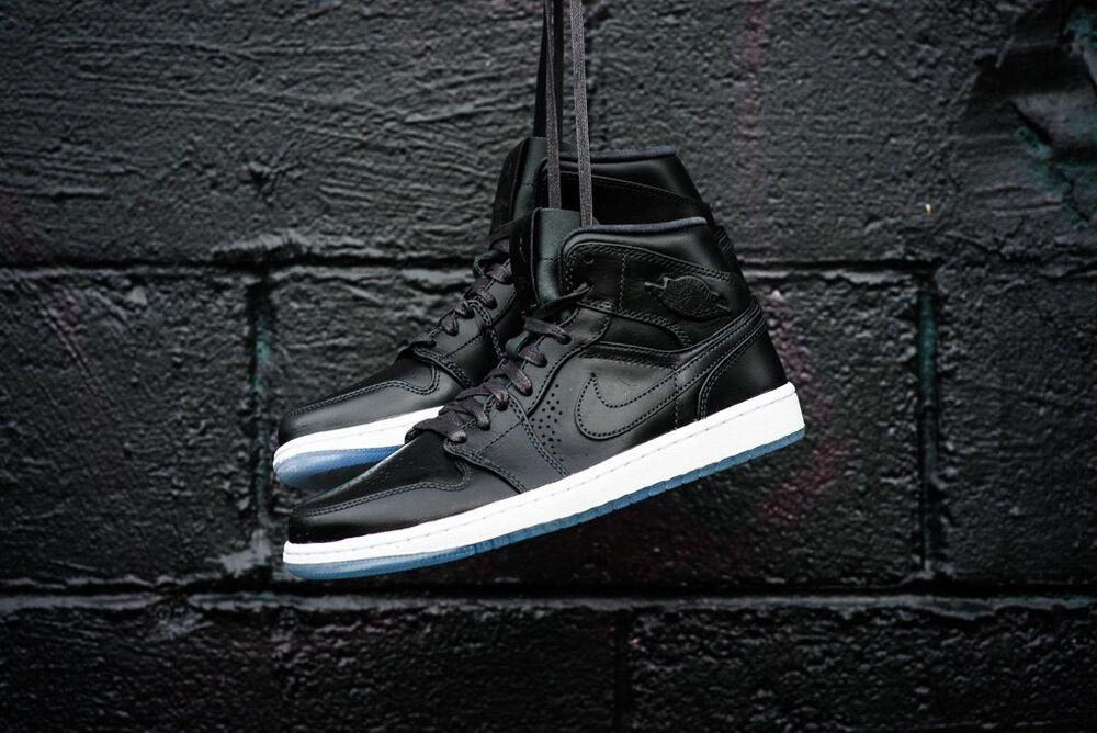 Nike Air Jordan 1 Retro Mid Nuveau UK 6 EU 40 Rare Baskets Entièrement neuf dans sa boîte 100% Original-