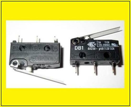 Miniature Microswitch Micro Switch Lever Changer 15a 250vac 2 Piece