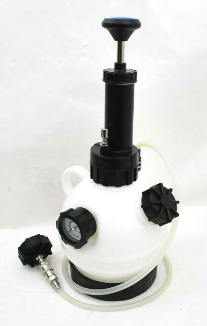 ARES 70921 2-Liter Brake Clutch Manual Pressure Fluid Bleeder ABS System