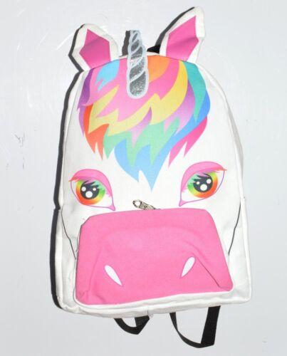 A57 3D Magic Unicorn Rainbow School College Travel LARGE Rucksack Backpack Bag