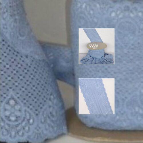 Bluebell Paisley diseño de encaje recorte TLC8 BL Libre P/&P
