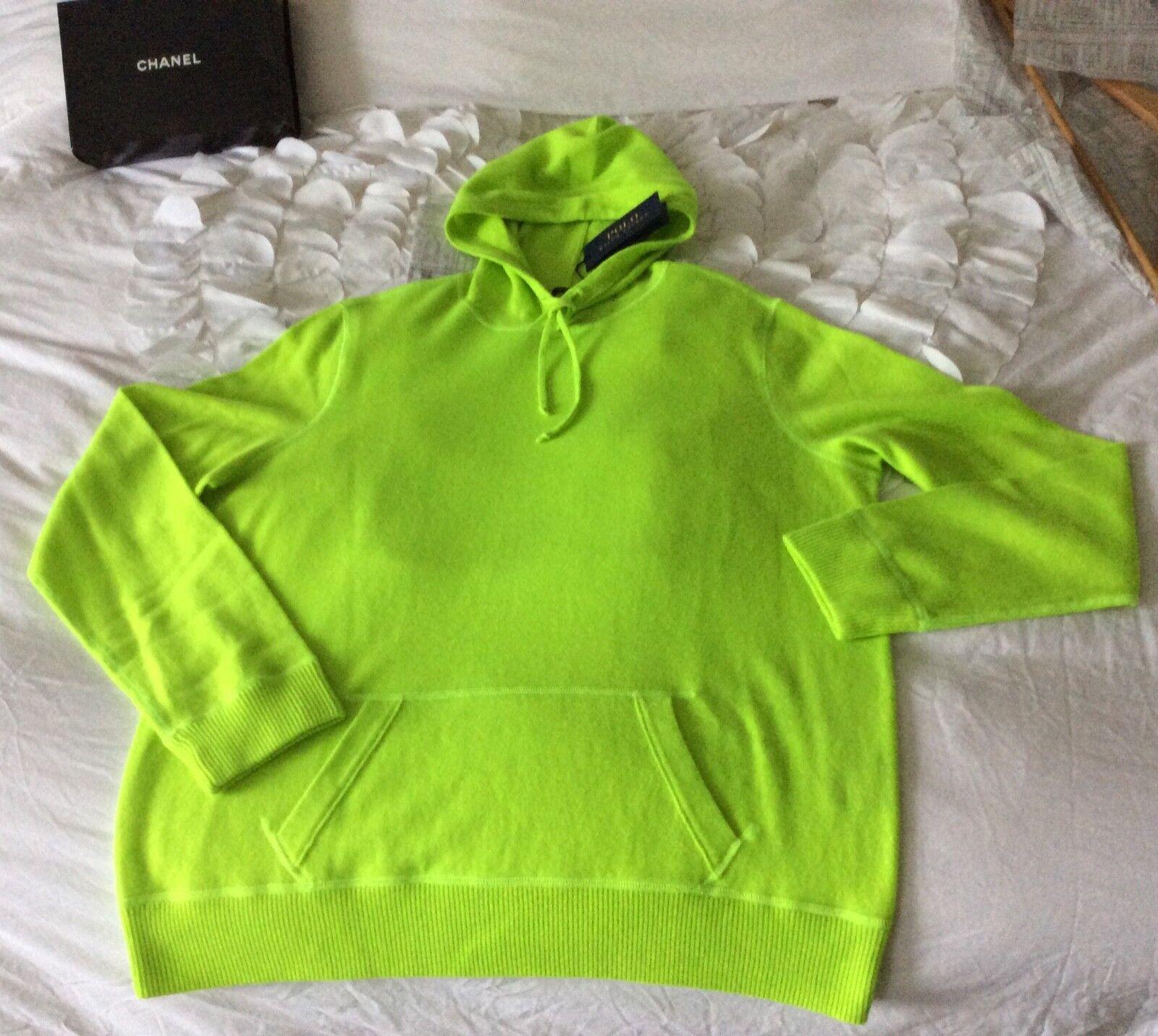 Ralph Lauren 100% cashmere hooded long jumper XL new tags fabulous Xmas gift