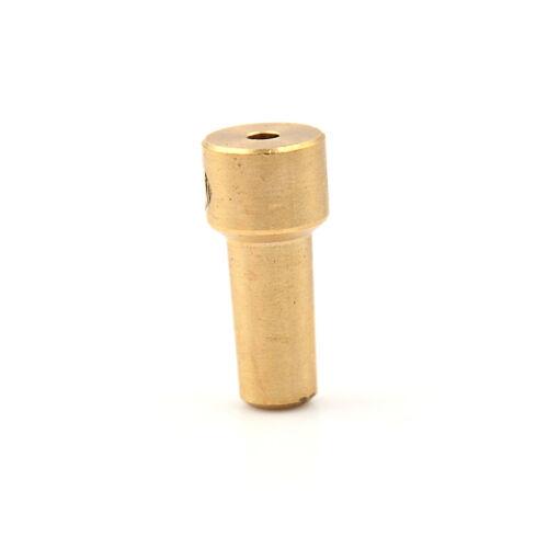 Messing 3,17 mm Elektrische Bohrfutter JT0 Kupplung Motorwelle Koppler ClampRSDE