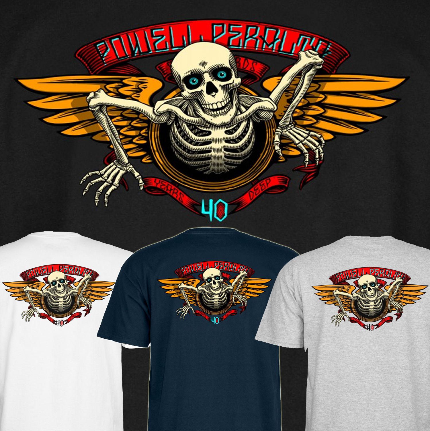 Powell Peralta 40th Anniversary Flügel Ripper Skateboard T-Shirt