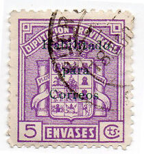 Sello Local Guerra Civil Cadiz -Cat. Galvez 169.  ORD:125