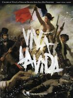 Coldplay Viva La Vida Sheet Music Piano Vocal Guitar Songbook 000307011