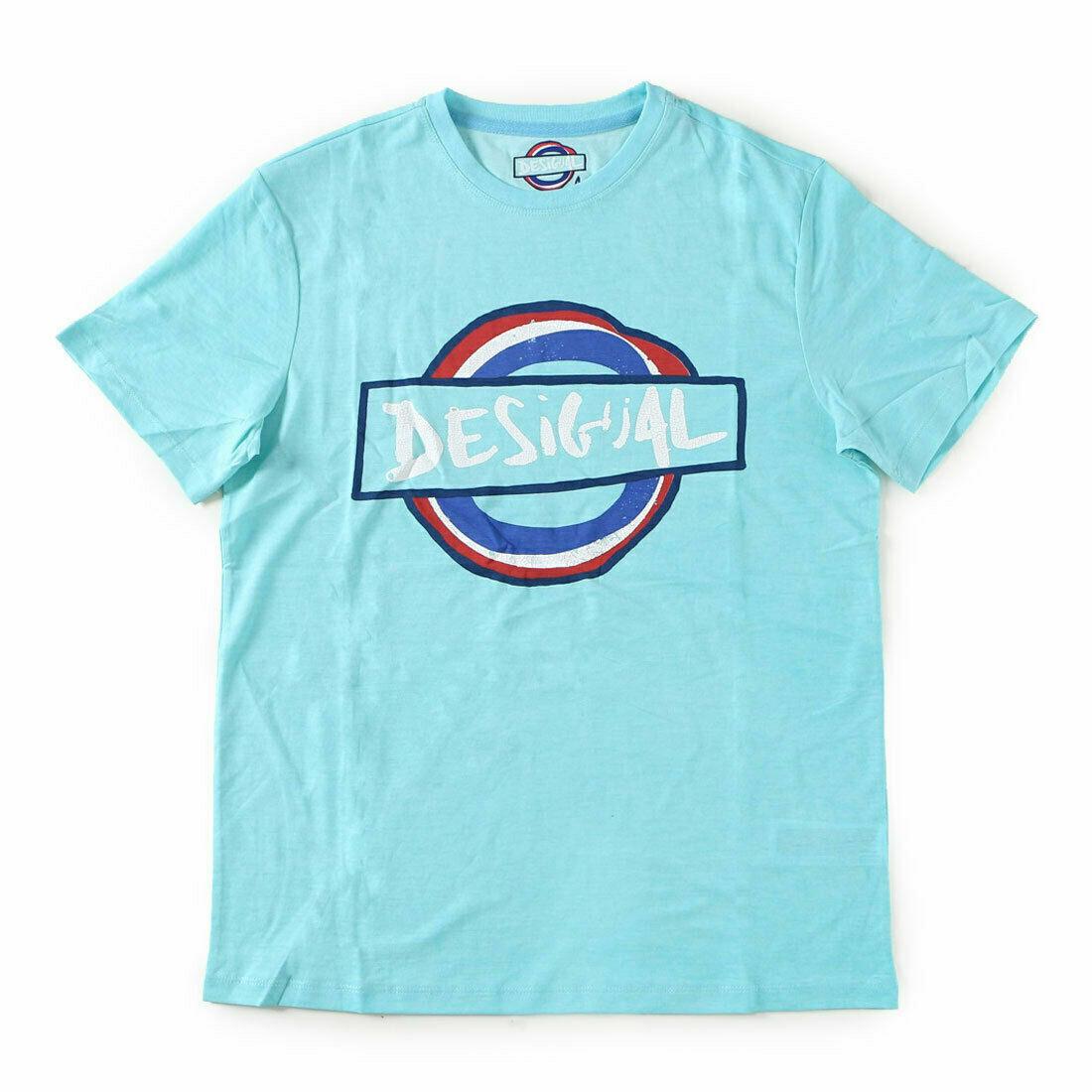 -65% Desigual Men`s T-Shirt TS ELIAS REP Size S NEW 45
