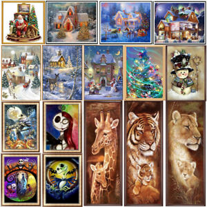 DIY-Full-5D-Diamonds-Painting-Embroidery-Christmas-Animal-Cross-Stitch-Craft