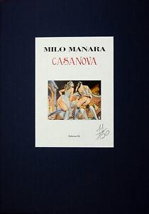 MANARA-PORTFOLIO-CASANOVA-NUMERATO-NON-FIRMATO