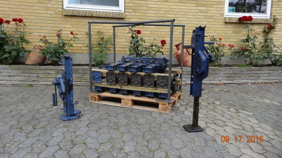 Andet entreprenørmateriel, Kaffemølle 5.000 kg - Dansk