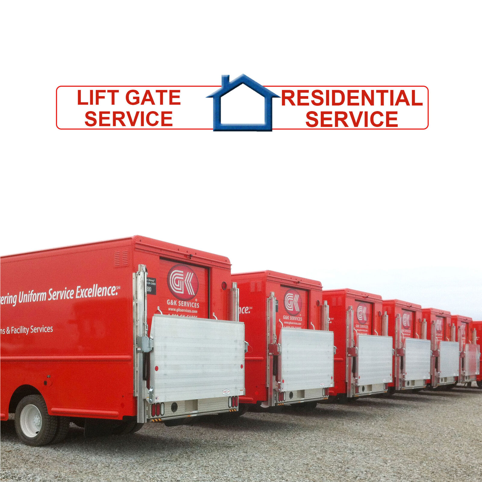 Shipping fee only lift gate