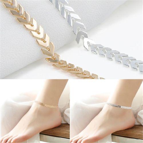 1X Women Barefoot Ankle Chain Anklet Bracelet Foot Jewelry Sandal Beach Hot Sale