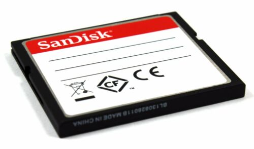 SanDisk CF Ultra 16 G CompactFlash Memory Card SDCFHS-016G 16GB Compact flash GB