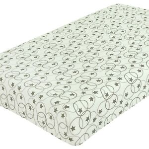 Dudu N Girlie Moses Basket Cotton Single Jersey Fitted Sheet Cream