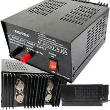 At Ps26 138v 26a Amp Heavy Duty Dc Regulated Power Supply Grade With Cable New