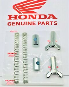 OEM-Honda-Big-Red-ATC-250-ES-SX-REAR-BRAKE-CABLE-ADJUSTER-NUT-JOINT-SPRING-2-PK