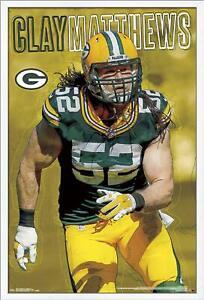 Arcilla-Matthews-Verde-Bay-Packers-Poster-22x34-NFL-Futbol-15015