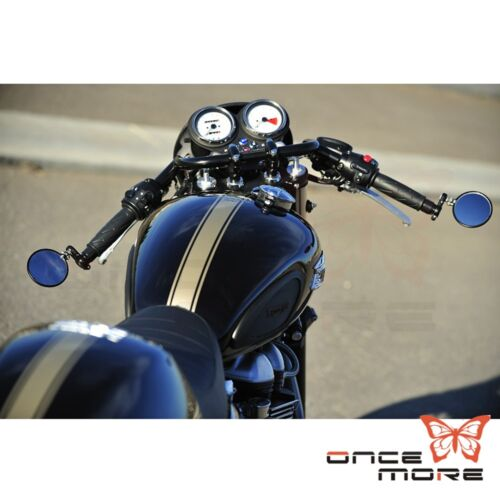 "1"" clubman motorcycle bars handlebars for harley chopper dyna cafe"