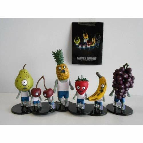 Fruta Zombie frutas Zombie Conjunto de 6 figuras Completa Japón nuevo.